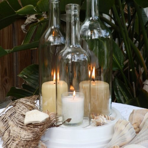 Make beautiful Center pieces for the table in doors and out