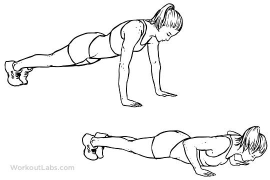 10 push-ups