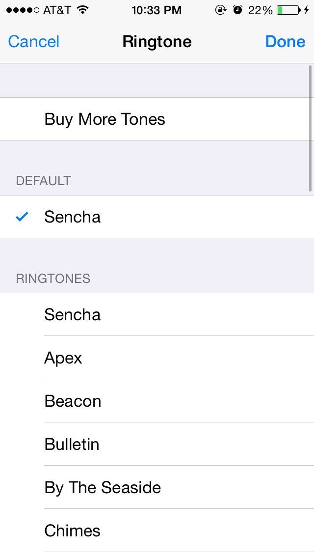 Go down to the button and there should be a button called ringtone( click it) choose the  Ringtone that you want just for that person