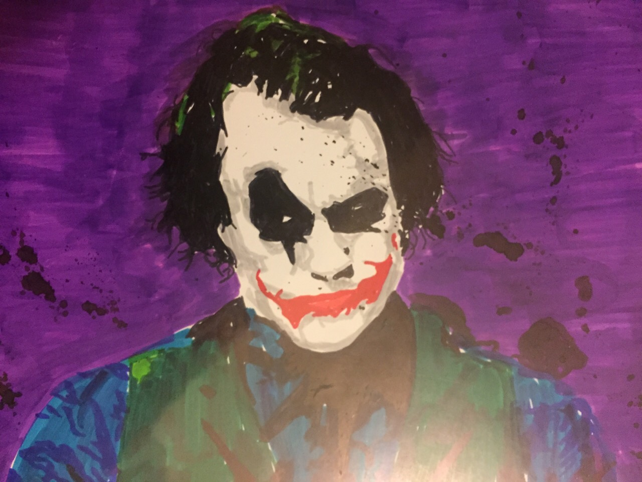 Joker (make by AWOL Blythe crowe stencil artist)