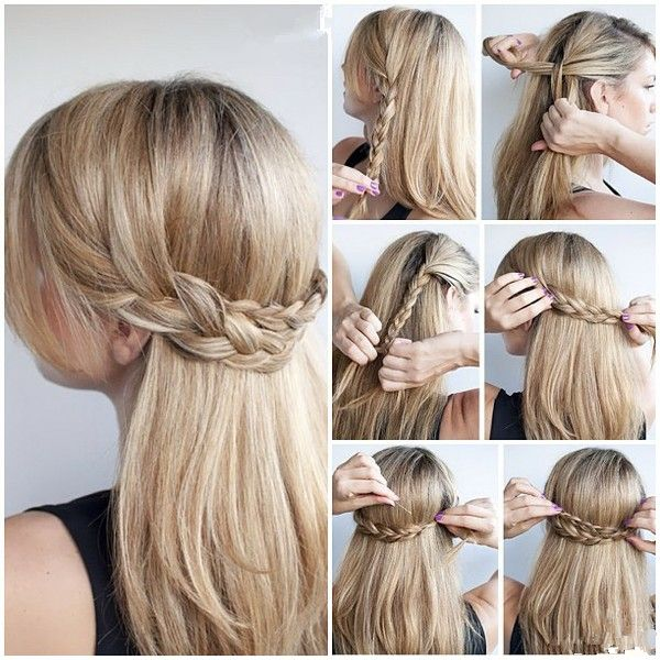Quick And Easy Half Up Half Down Hairstyles Tutorials By
