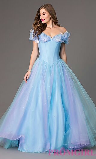 Enchanted Cinderella Ball Gown