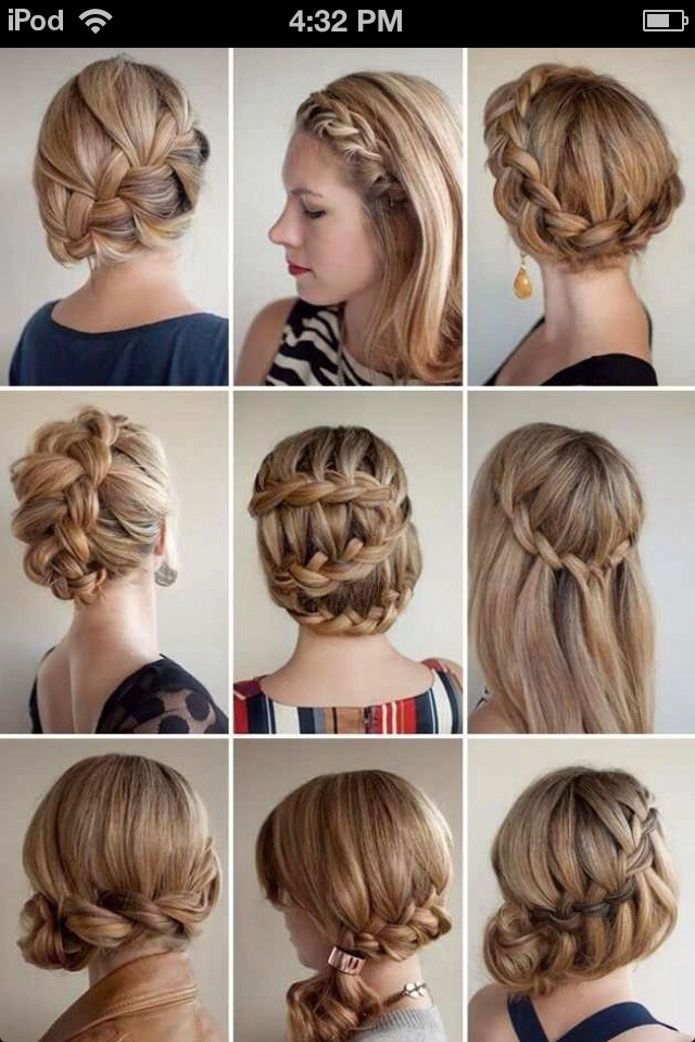 Different types of braidings