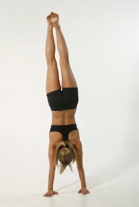 12 handstand push ups