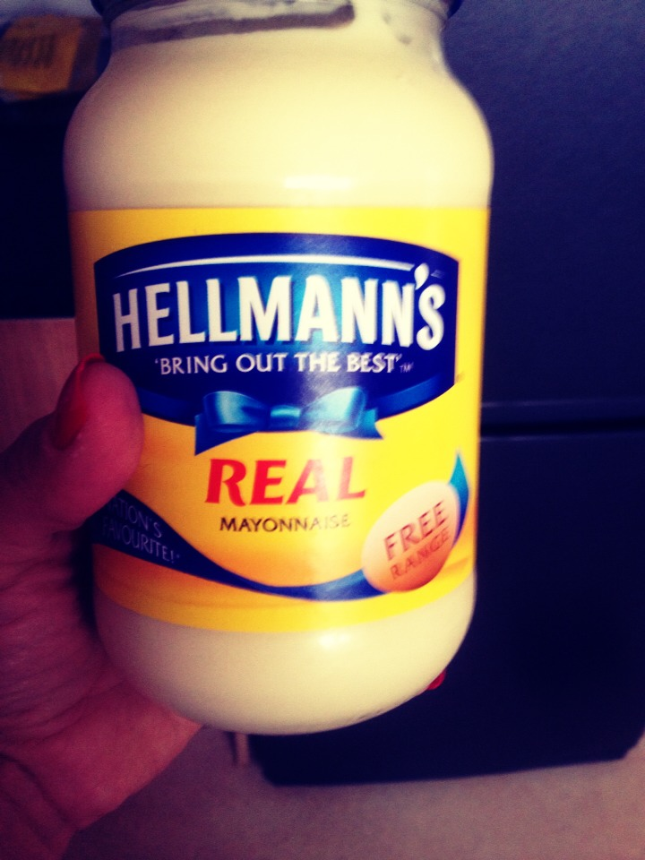You need any mayonnaise... As you can see I'm using this one 😊