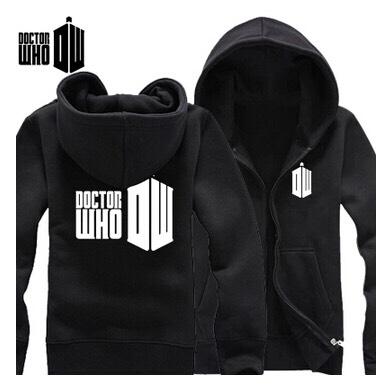 Black doctor who zip up