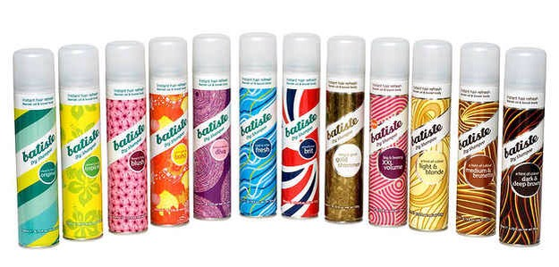 16. Batiste Dry Shampoo: Dry shampoo is already a godsend. But when it comes in different scents and colors (so that you're not frantically combing out every last bit of white), it's even better.