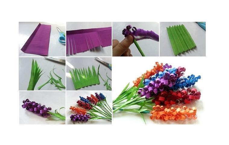 Musely diy swirly paper flowers mightylinksfo