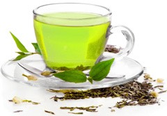 15. Greene tea Stimulates the metabolism for a few minutes