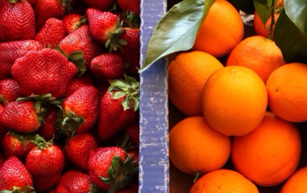 Strawberries contain more vitamin c than oranges