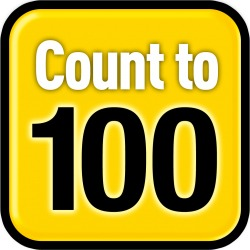 When you're stressed, COUNT TO 100. It helps you to focus on something other than what you're worried about. Just keep counting over and over again until you feel better!
