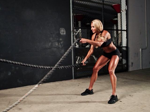 4. Battle ropes