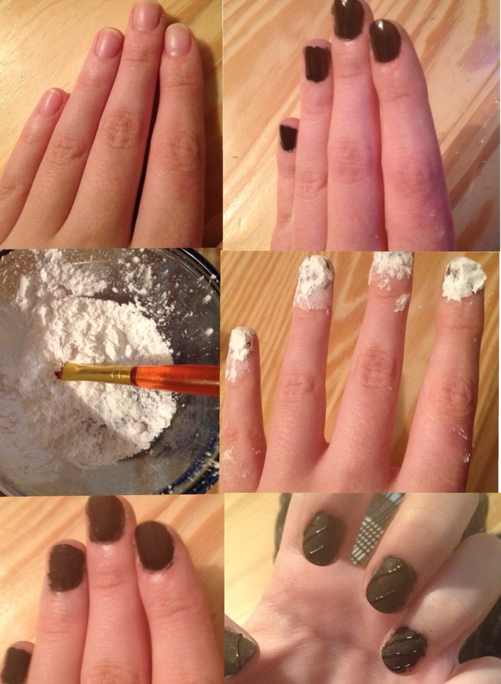 How To Matte Simply Paint Your Nails Preferably Red Or Black While Wet Dip