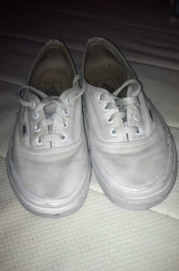 This is after cleaning them! They look brand new!