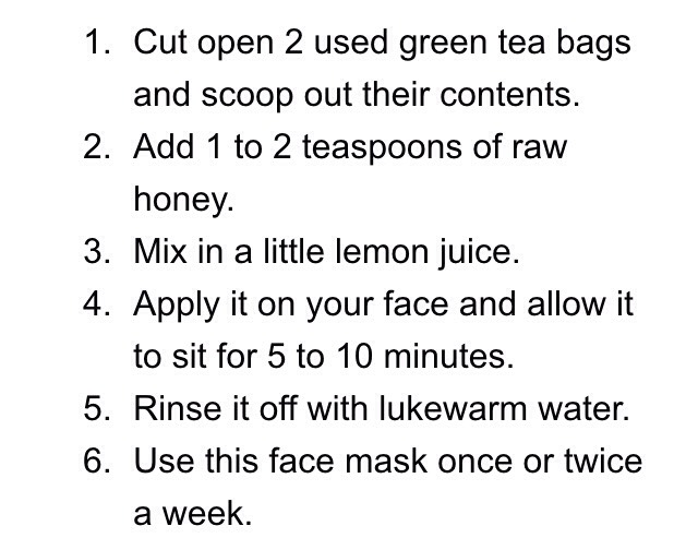 ~Face mask for healthier beautiful skin~