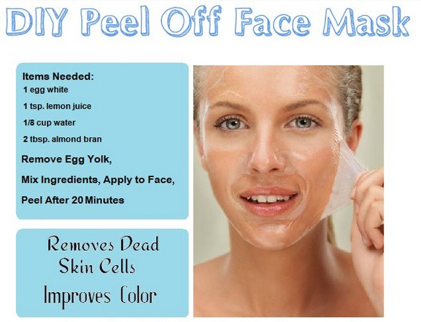 Peel Off Face Mask! by Christina Hanna