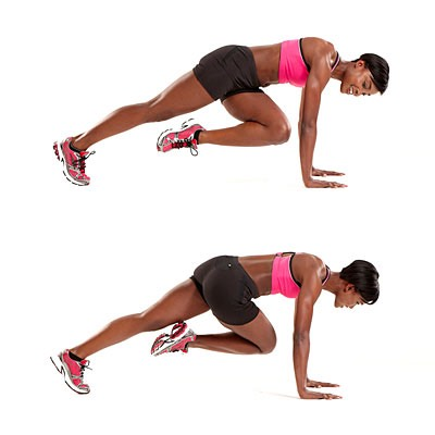 30 second mountain climbers