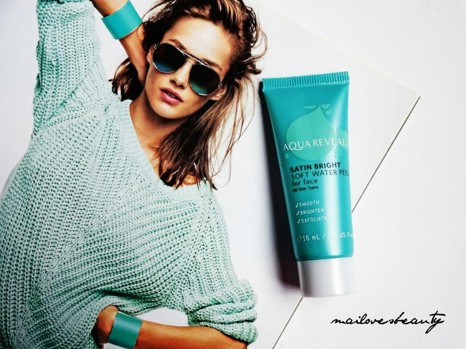 When you try Aquareveal's gentle, non-physical exfoliators, you will notice instantly improved skin, without the harshness of acid, scrub and enzyme exfoliators.