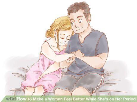Comfort her.