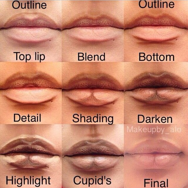How To Make Lips Look Fuller Without