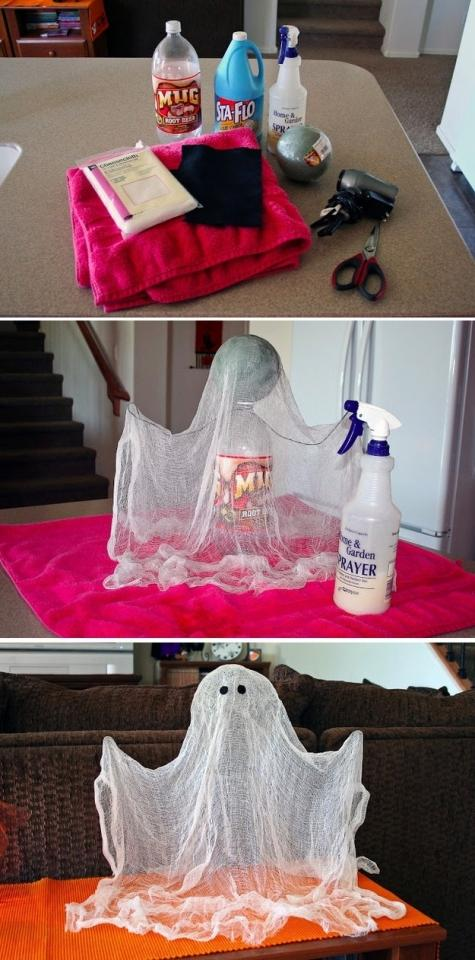 26. Cheesecloth Ghost