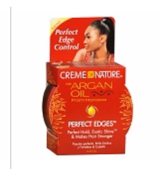 Creme of Nature can be found at some drug stores and beauty supply stores. Check before going.