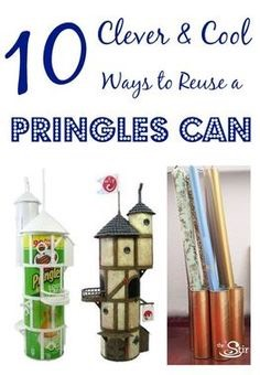 Or make clever decorations out of can .