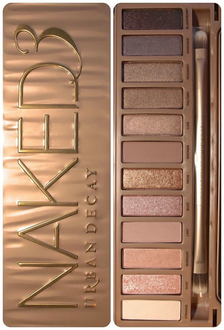 Eye shadow (neutral colors are best to start with)