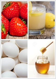 6️⃣ | If you are tired of your oily skin, + want an instant oil free fresh skin, then you can apply this homemade mask.  Take 1 cup of strawberries, 1 teaspoon of lemon juice, 2 egg whites, + 2 teaspoons of honey. Mix it well + apply the mixture to face for 10 minutes. Wash with any good face wash.