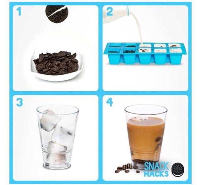 Cookies & Cream Coffee With Oreo..