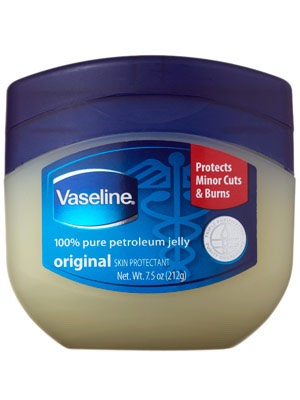 Put petroleum jelly on lips first