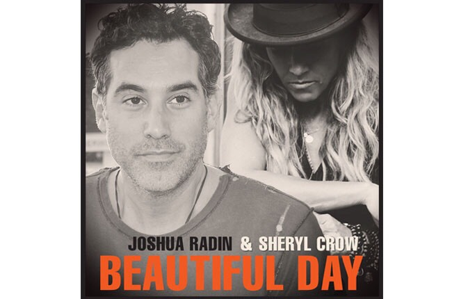 This is one of my favorite songs right now, I listen to it every morning before I get the day started. 'Beautiful Day' by Joshua Radin  (feat. Sheryl Crow) is an uplifting song that reminds up to make a beautiful day of every day we get!