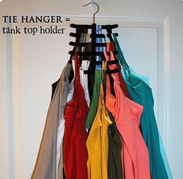 Image result for tie hanger for tank tops