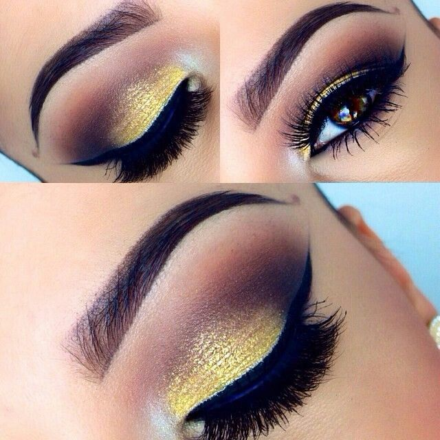 Yellow And Gold Eye Makeup Makeupview