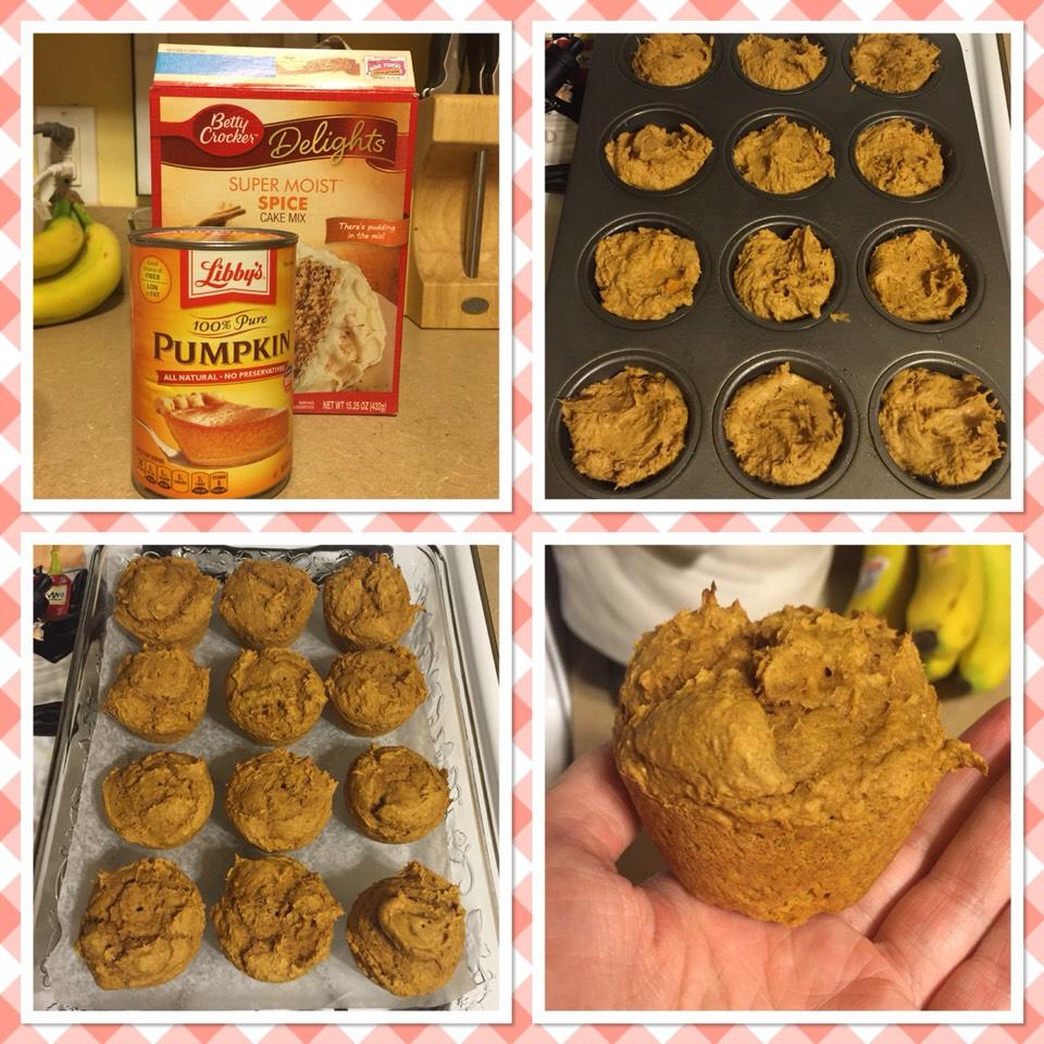 2 IngredientPumpkin Muffins 7 SmartPointseach makes 12 servings  .