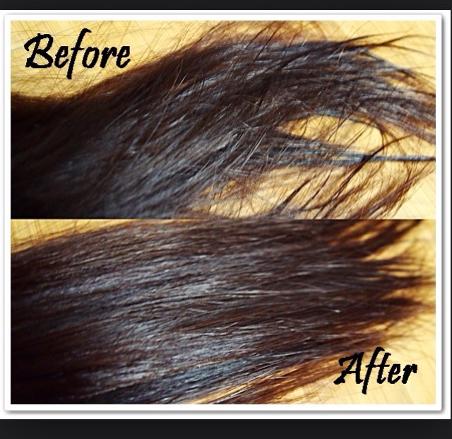 In about a week, your hair should look alive and healthy!