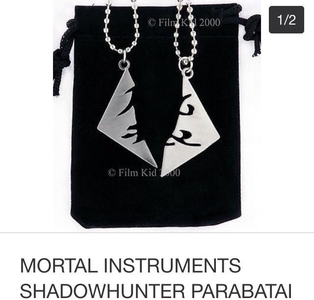 mortal instruments parabatai necklace