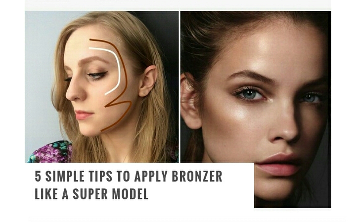 Here are 5 simple tips to help you apply your bronzer just like a super model!