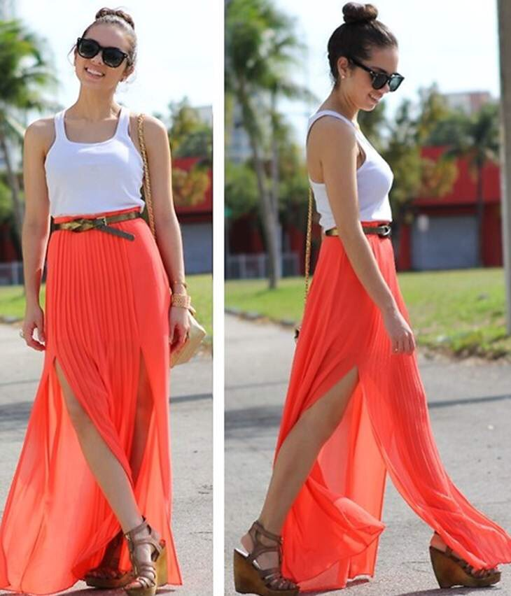 A Maxi Skirt