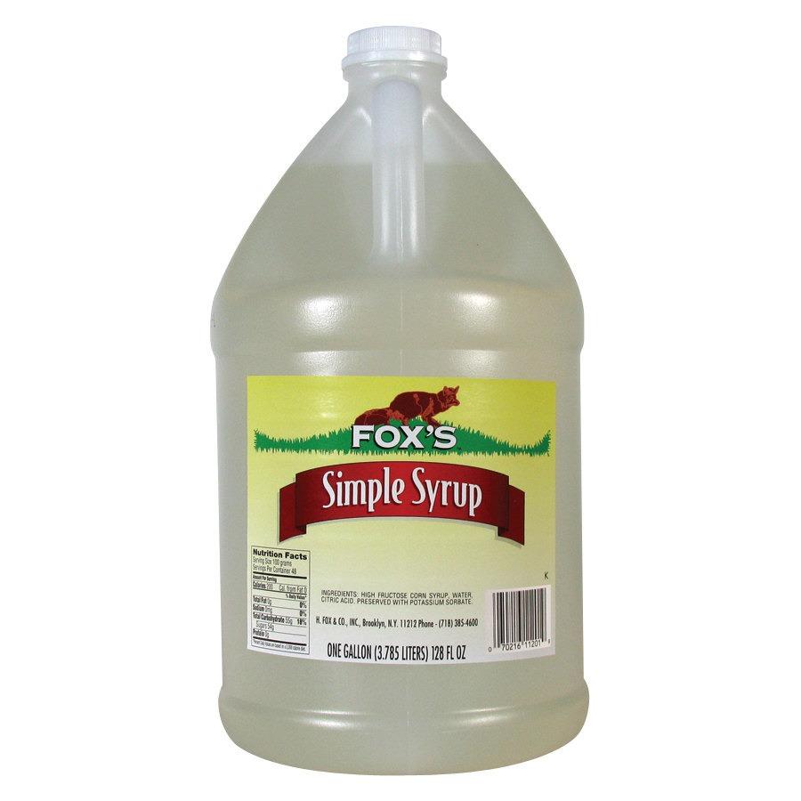 1/3 cup of sugar syrup