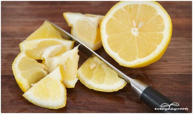 Lemon (or lime):