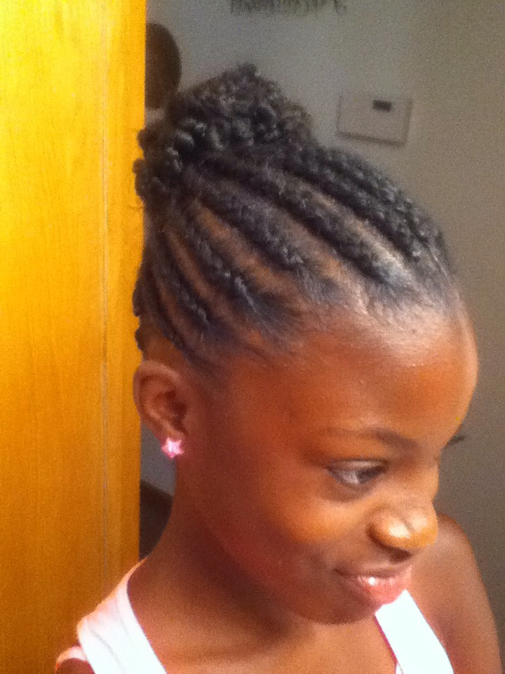 Easy Hairstyle For Summer On Natural Hair by Beth Lauder