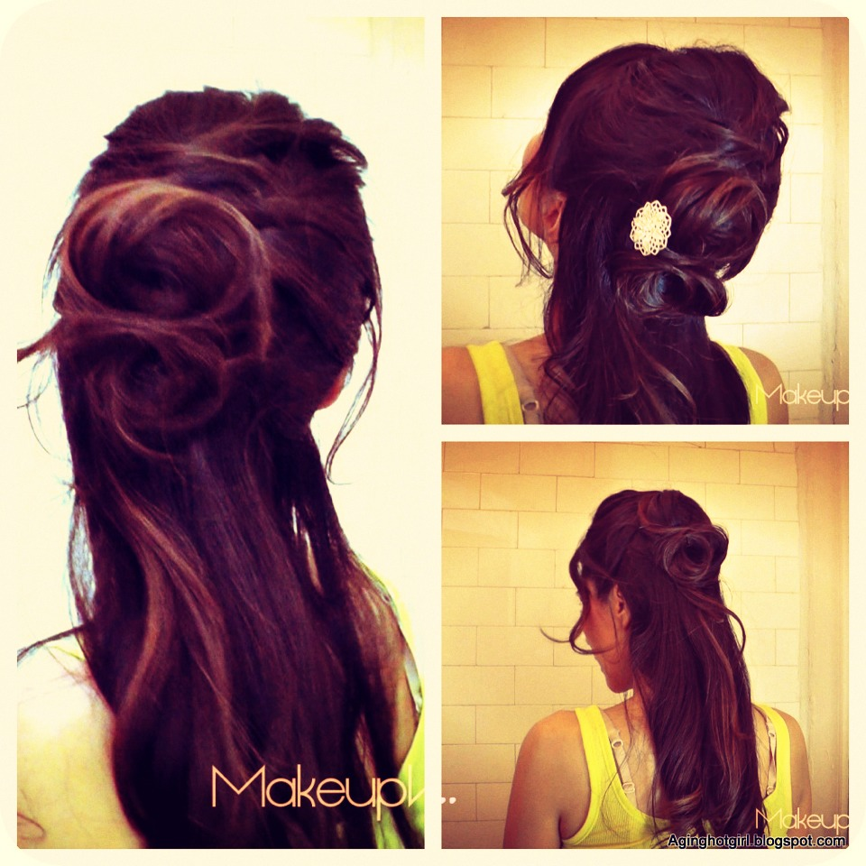 Feel like a princess with this hairstyle