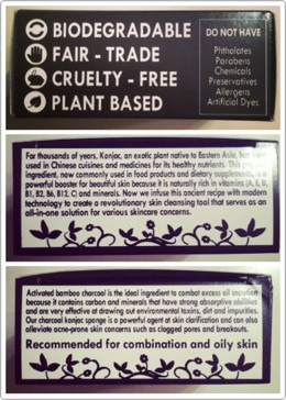 I love the box it comes in, it's sofull of useful information about the product and just how it works exactly. Plus, it's biodegradable and cruelty free! (I even got a coupon for my next purchase! 😁)