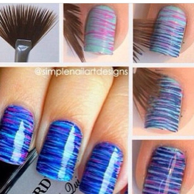 Cute beautiful nail design also very easy