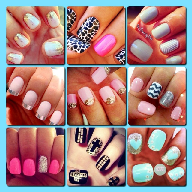 Musely super cute nail designs prinsesfo Image collections