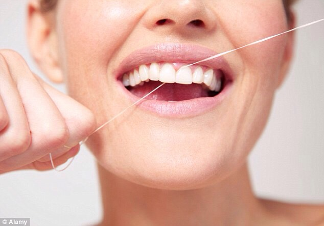 The 2nd thing to do, is floss it gets the gunk out! Plus the amount of plaque that gets in your teeth if you hadn't flossed in awhile, so gets some flossers, to brush your teeth! If you don't floss your teeth you'll get food stuck in it yuck! That's half the reason why your breath sometimes stinks