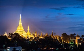Despite of being a very busy and modern city, Yangon has also it's heritages. Examples are Shwe Dagon pagoda, national theatre and so on. So make sure u visit there