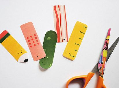 25. These FREE printable bookmarks.