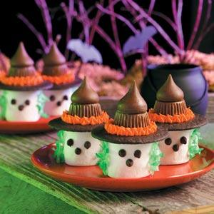 Marshmallow Witches recipe!